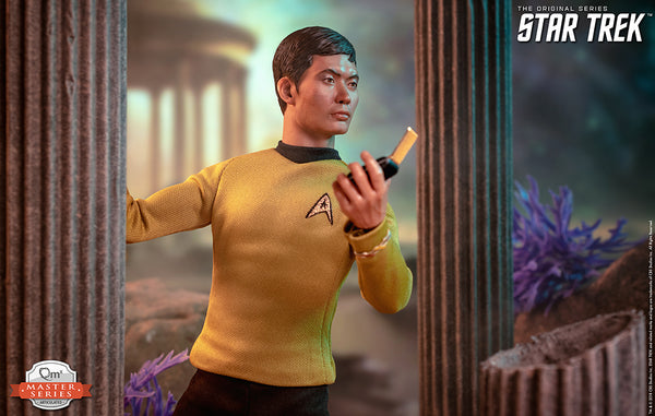 QMx Master Series Star Trek TOS Sulu 1:6 Scale Articulated Figure, Popular Characters- Have a Blast Toys & Games