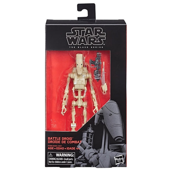 Star Wars The Black Series Battle Droid 6-Inch Action Figure, Star Wars- Have a Blast Toys & Games