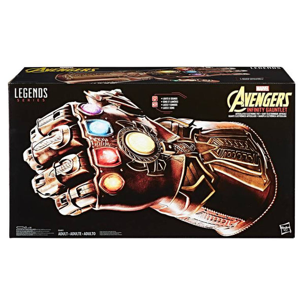 Marvel Legends Series Avengers Infinity Gauntlet Articulated Electronic Replica, Marvel- Have a Blast Toys & Games