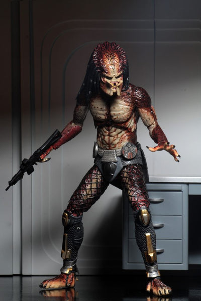 NECA Predator 2018 Ultimate Fugitive Predator (Lab Escape) 7-Inch Figure, Popular Characters- Have a Blast Toys & Games