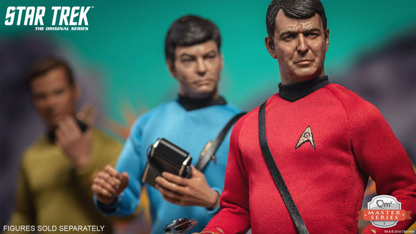 QMx Master Series Star Trek TOS Scotty 1:6 Scale Articulated Figure, Popular Characters- Have a Blast Toys & Games