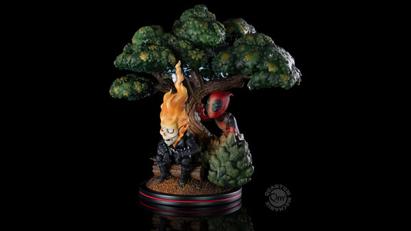 Quantum Mechanix Deadpool x Ghost Rider Q-Fig Master Diorama Statue