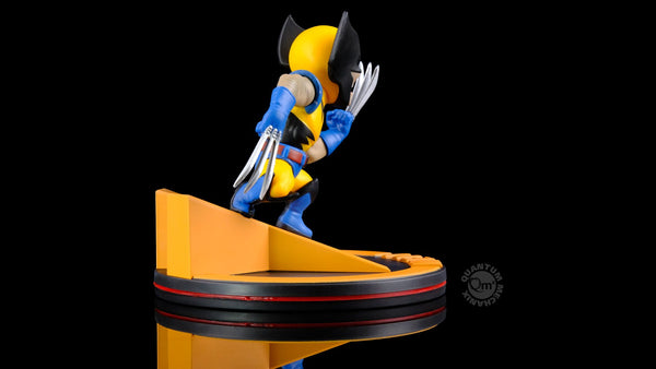Quantum Mechanix Wolverine Q-Fig Diorama Figure, Marvel- Have a Blast Toys & Games