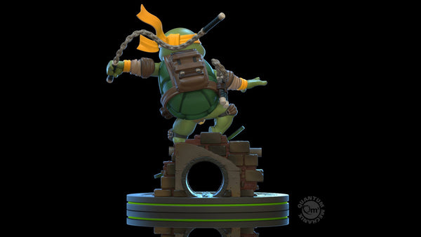 QMx Teenage Mutant Ninja Turtles Michelangelo Q-Fig Figure