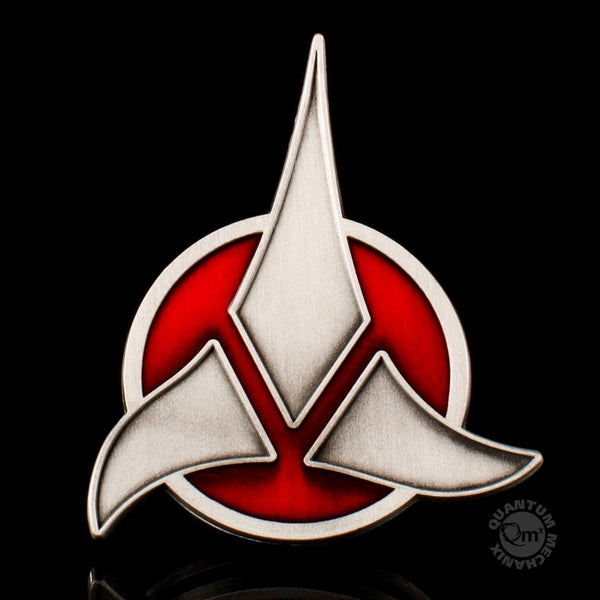 QMx Star Trek TNG Klingon Emblem Badge, Popular Characters- Have a Blast Toys & Games