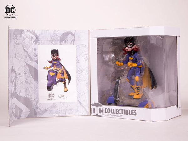DC Artists Alley Batgirl by Zullo Vinyl Figure, DC Comics- Have a Blast Toys & Games