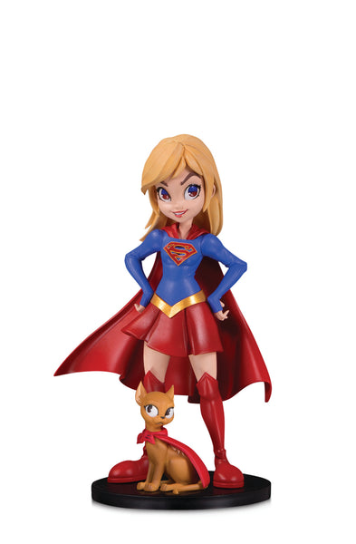 DC Artists Alley Supergirl by Zullo Vinyl Figure, DC Comics- Have a Blast Toys & Games
