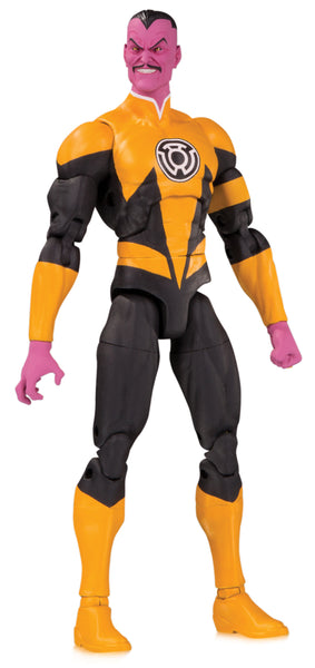 DC Essentials Sinestro Yellow Lantern DC Comics Action Figure, DC Comics- Have a Blast Toys & Games