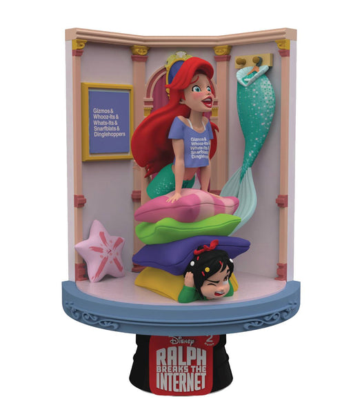 Beast Kingdom Wreck It Ralph 2 Ariel D-Stage Series 6-Inch Statue