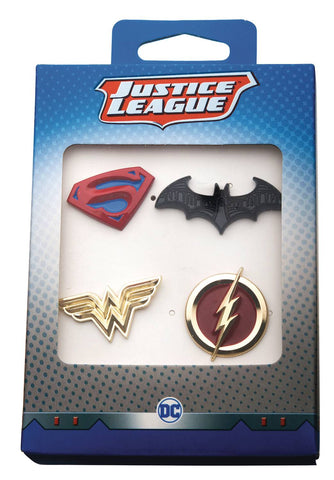 DC Comics Justice League Boxed Pin Set, DC Comics- Have a Blast Toys & Games