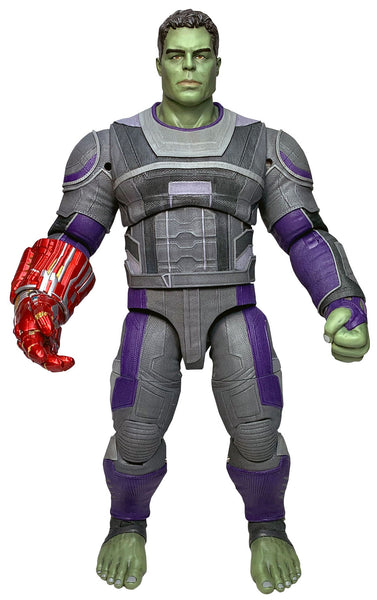 Marvel Select Avengers Endgame Hero Suit Hulk 9-Inch Action Figure, Marvel- Have a Blast Toys & Games