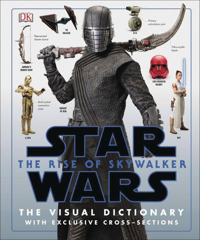 Star Wars The Rise of Skywalker Visual Dictionary Hardcover, Star Wars- Have a Blast Toys & Games