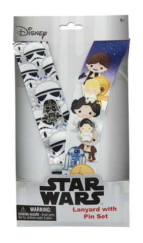 Disney Star Wars D23 Expo Exclusive Lanyard & Pin Set 2019, Star Wars- Have a Blast Toys & Games