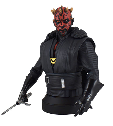 Gentle Giant Star Wars Darth Maul Crimson Dawn 1/6 Scale Bust