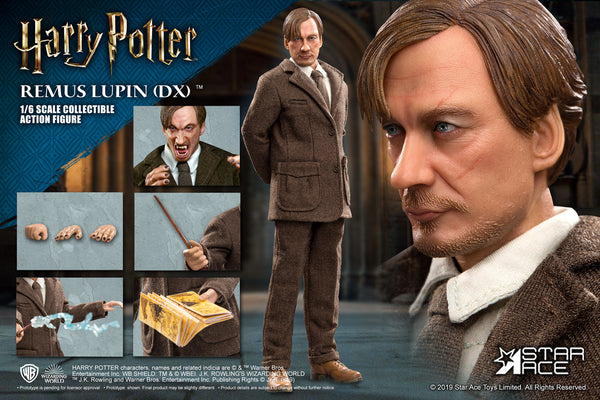 Star Ace Harry Potter Remus Lupin Prisoner of Azkaban 1:6 Scale Deluxe Figure