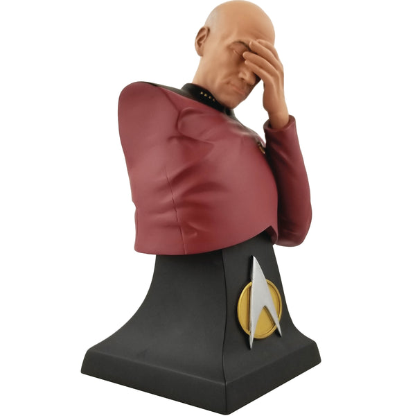 Star Trek TNG Captain Jean Luc Picard Facepalm Bust SDCC 2020 Exclusive