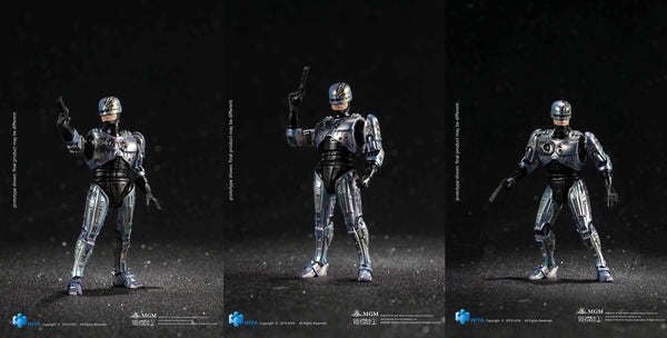 Hiya Toys Robocop 2 Battle Damaged Robocop 1/18 Scale Action Figure