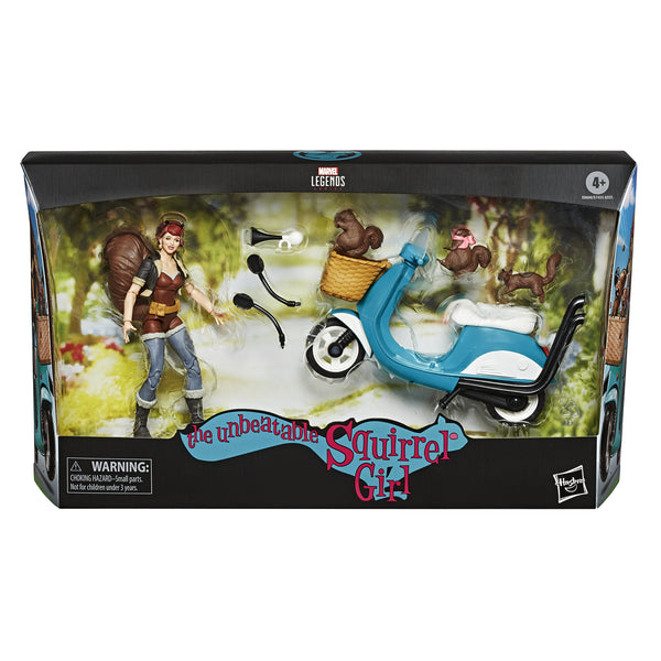 Marvel Legends The Unbeatable Squirrel Girl Deluxe 6-Inch Action Figure, Marvel- Have a Blast Toys & Games