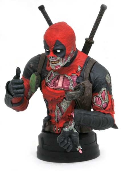 Gentle Giant Zombie Deadpool Marvel SDCC Exclusive 1/6 Scale Bust