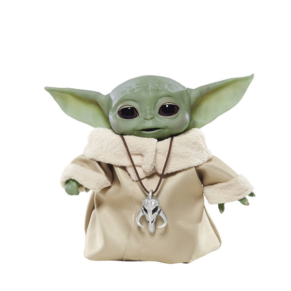 Star Wars The Mandalorian The Child (Baby Yoda) Animatronic Figure, Popular Characters- Have a Blast Toys & Games