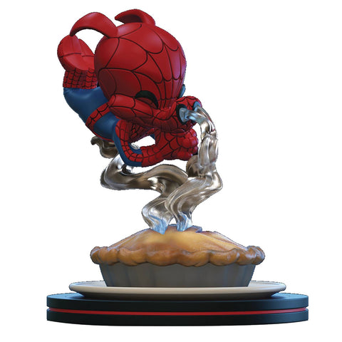 Quantum Mechanix Marvel Spider-Ham Q-Fig Diorama Figure