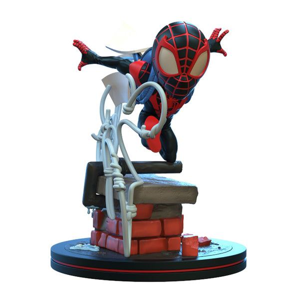 Quantum Mechanix Spider-Man Miles Morales Q-Fig Elite Diorama Figure