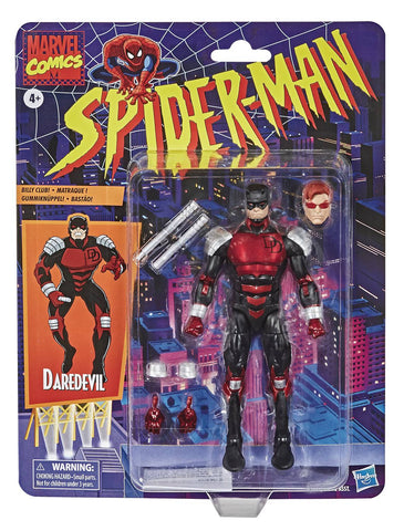 Marvel Legends Spider-Man Daredevil Retro 6-Inch Action Figure