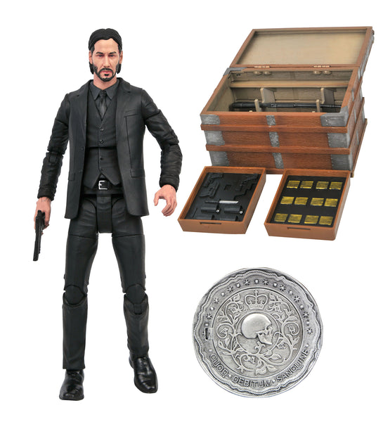 Diamond Select John Wick Deluxe 7-Inch Action Figure Box Set