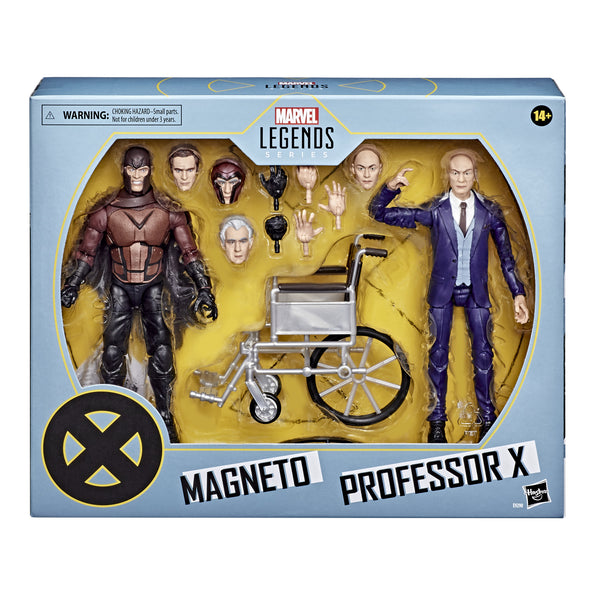 Marvel Legends X-Men Magneto & Professor X 6-Inch Figure Set