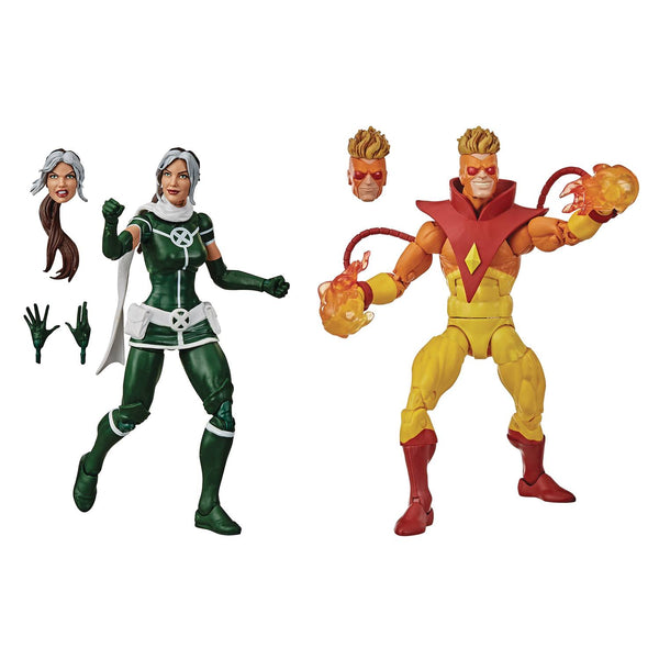 Marvel Legends X-Men Rogue & Pyro 6-Inch Figure Set