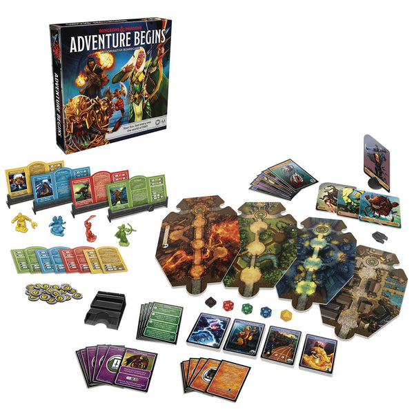 Dungeons & Dragons Adventure Begins Cooperative Board Game
