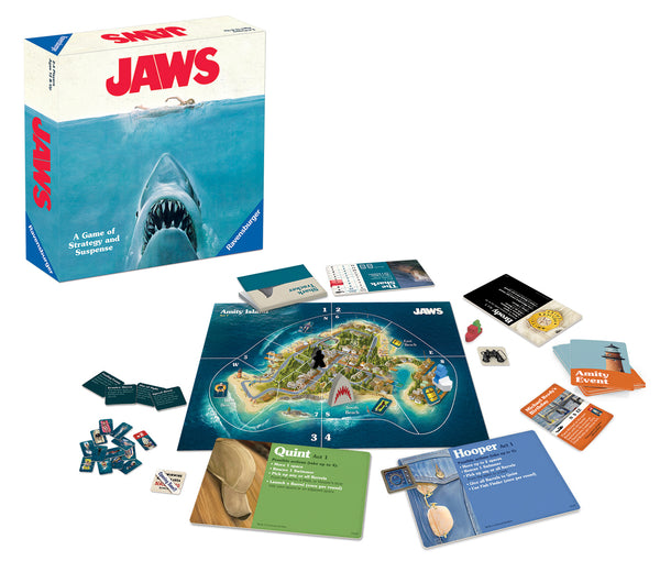 Ravensburger Jaws Universal Studios Strategy Board Game