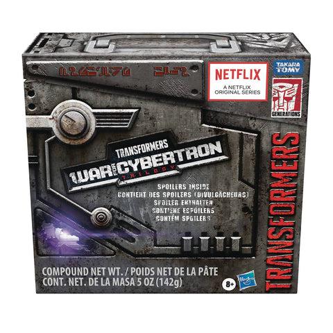 Transformers Netflix War for Cybertron Nemesis Prime Leader Class Spoiler Pack