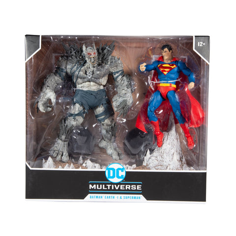 McFarlane DC Multiverse Superman vs Batman Devastator Action Figure 2 Pack