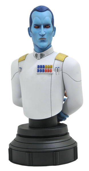 Gentle Giant Star Wars Rebels Grand Admiral Thrawn 1/7 Scale Bust