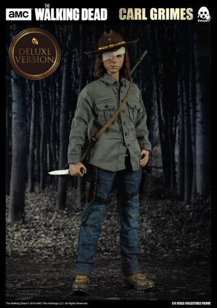 ThreeZero AMC The Walking Dead Carl Grimes Deluxe 1:6 Scale Figure