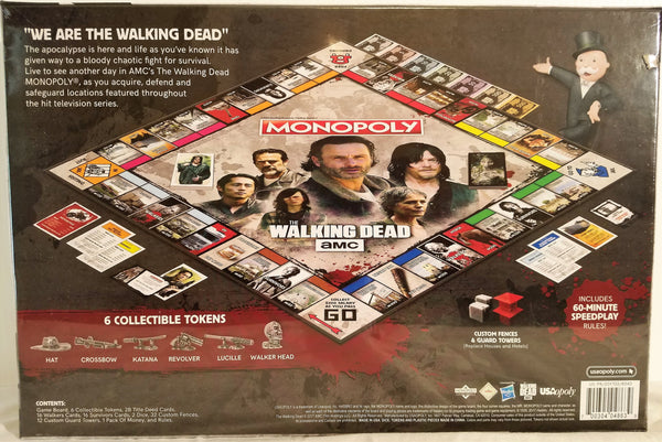 AMC The Walking Dead Monopoly Board Game Damaged Box, The Walking Dead- Have a Blast Toys & Games