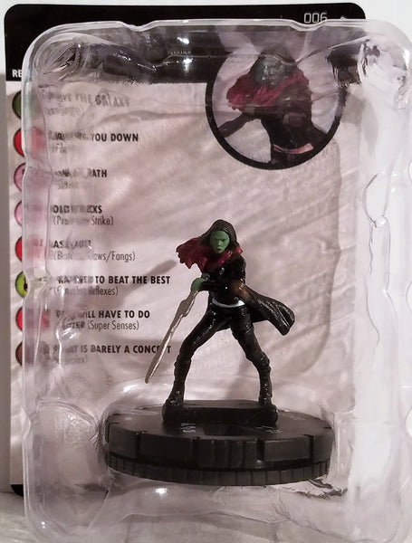 Marvel HeroClix Gamora Guardians of the Galaxy Vol. 2 Figure #006, Marvel- Have a Blast Toys & Games