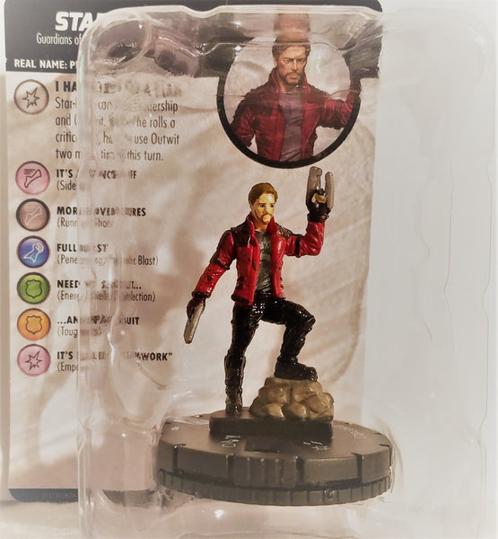 Star-Lord Guardians of the Galaxy Vol. 2 Marvel HeroClix Figure #004, Marvel- Have a Blast Toys & Games
