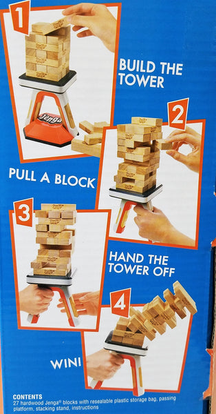 Jenga Pass Challenge Hasbro Game, Have A Blast- Have a Blast Toys & Games