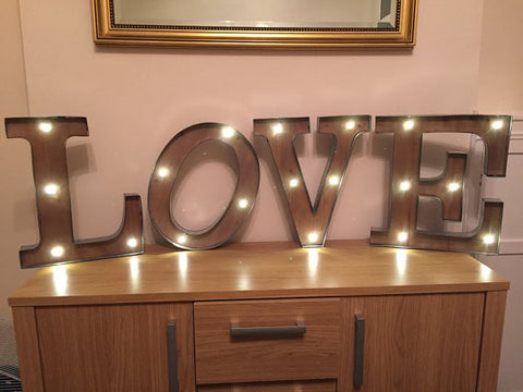 Marquee Letters Verlichting : Letter led light pike.productoseb.co