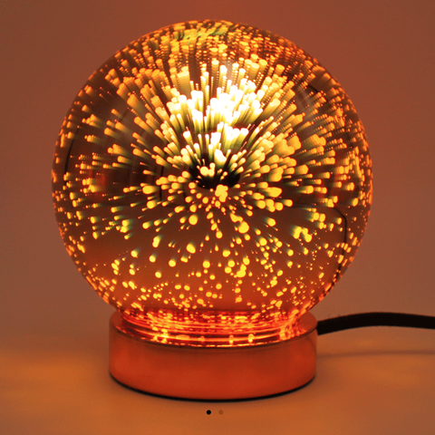 best sneakers fd201 31920 ... Light Up Galaxy Table Lamp - Rose Gold