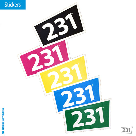 231 Stickers