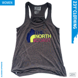 North Coast Racer Back Flo Tank