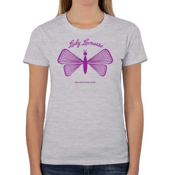 020 Ladies/Girls LAX Ladybug short sleeve tee-shirt