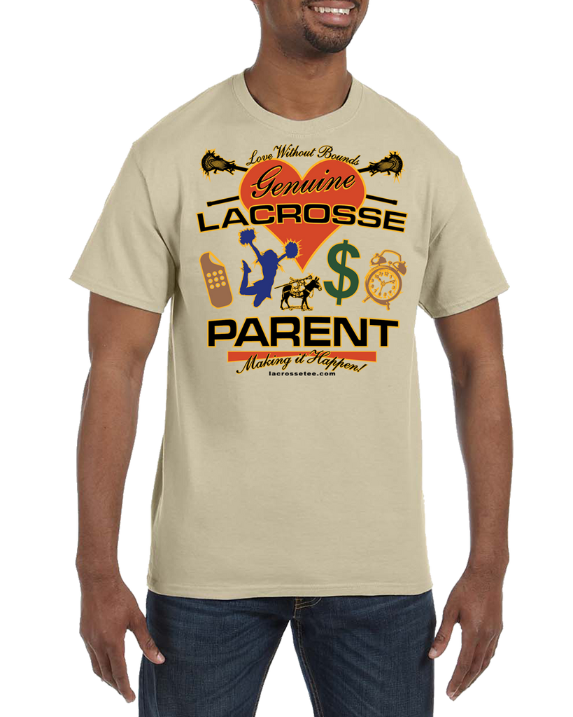 009 Parent Lacrosse short sleeve Tee-shirt