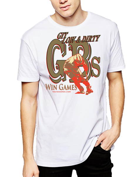 005 GBs (Ground Balls) Lacrosse short sleeve Tee-shirt