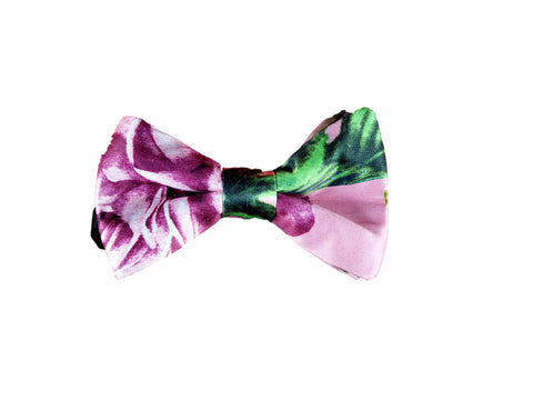 Pink floral bow tie 2019 summer collection