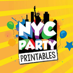Welcome to NYC Party Printables