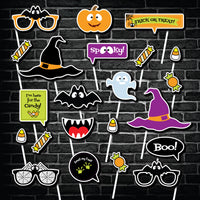 Halloween Party Photo Booth Props Printable  INSTANT DOWNLOAD - NYC PARTY PRINTABLES